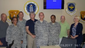AADM Trainers with members of the 927th ASTS, MacDill AFB